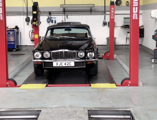Historic Jaguar restored