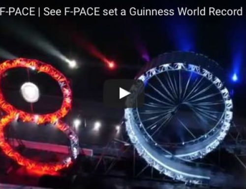 F Pace world record