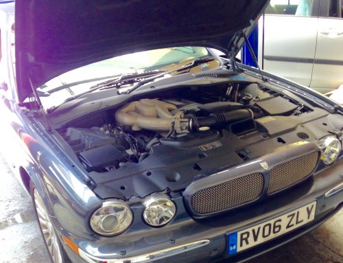 Jaguar Repair Swindon – XJ Gearbox oil change