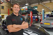 Jaguar Technician - Paul Titheridge
